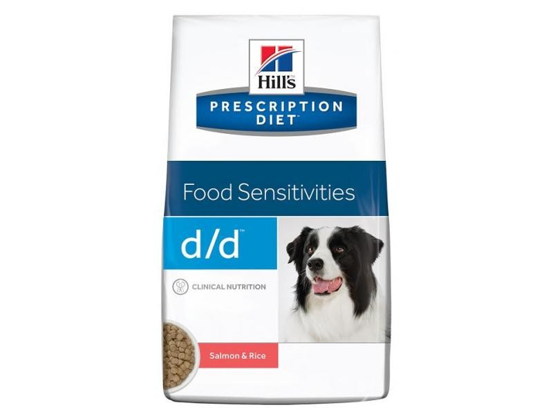 Hills PD d/d Canine Skin Support Salmon & Rice