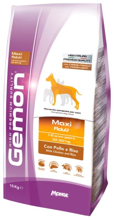 Gemon Maxi Adult with Chicken & rice