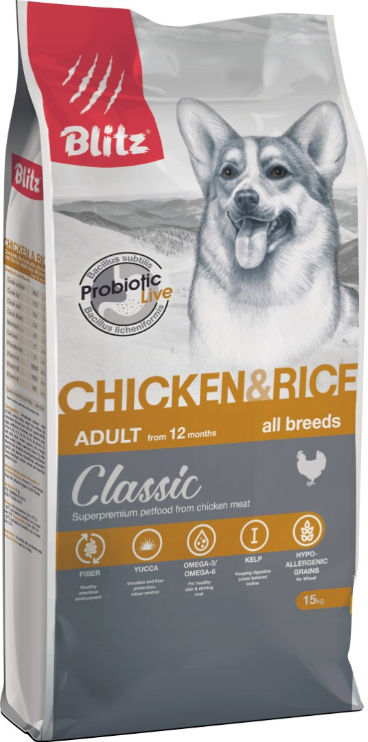 BLITZ ADULT CHICKEN & RICE