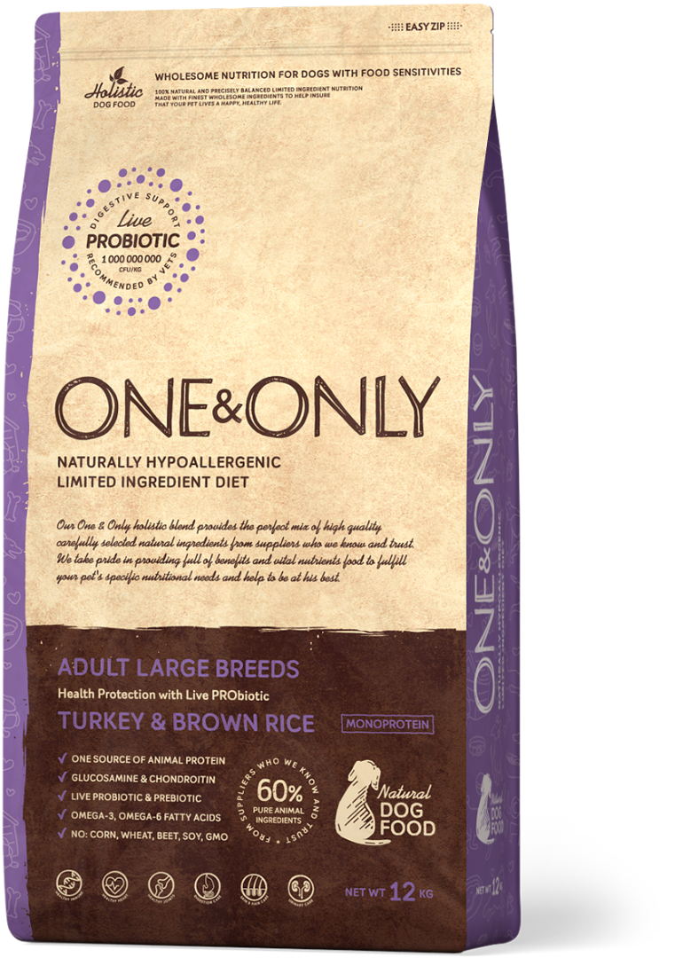 ONE&ONLY Turkey & Brown Rice Large Breeds