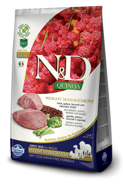 Farmina N&D Quinoa Weight Management Lamb