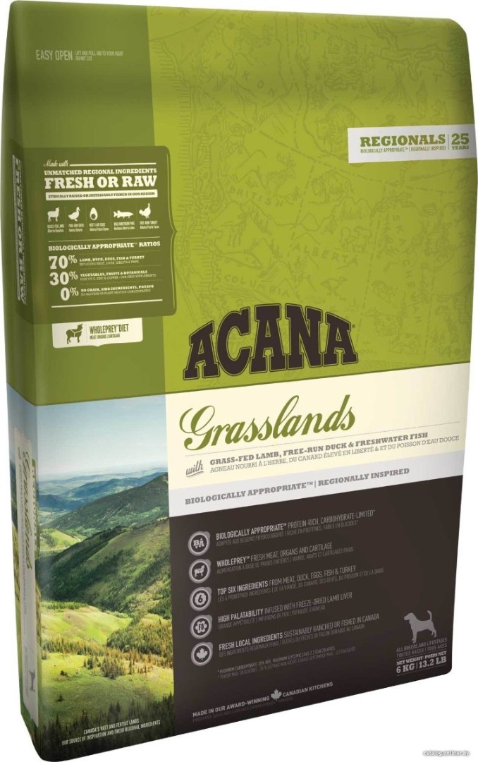 Acana GRASSLANDS for Dogs