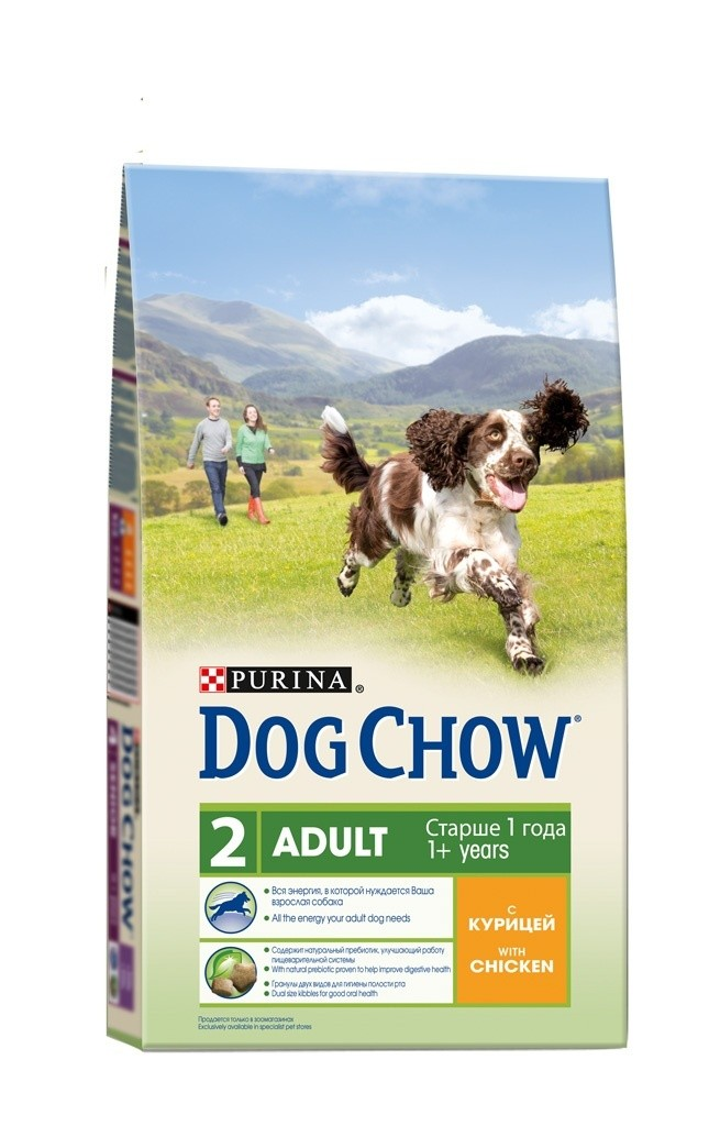 Dog Chow ADULT. С курицей