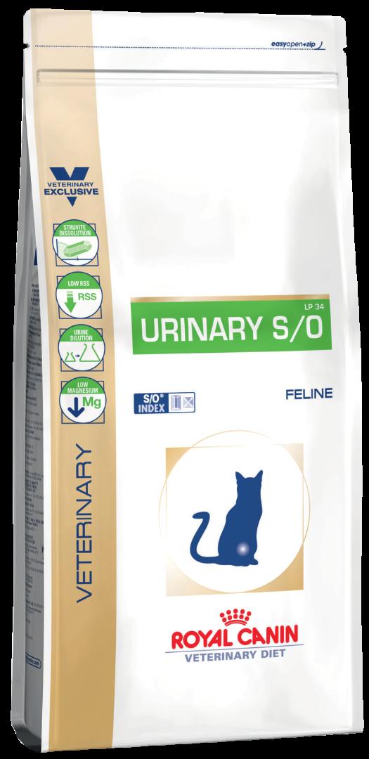 Корм royal canin urinary so feline can