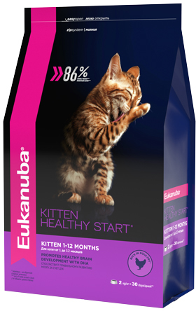 Eukanuba Kitten Rich in Chicken