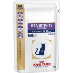 Royal Canin VD POUCH SENSITIVITY CONTROL FELINE Chicken