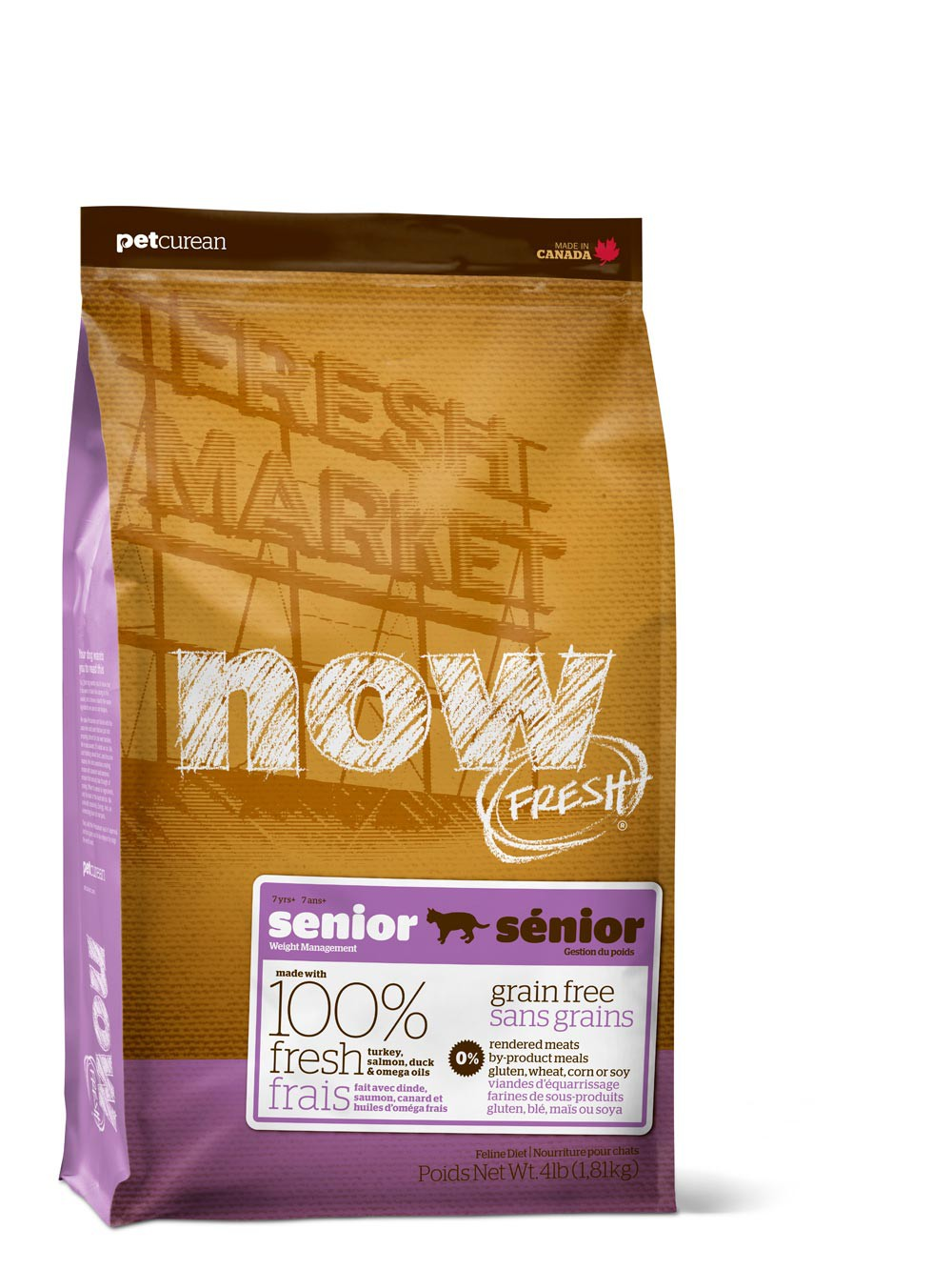 Now! Fresh SENIOR/WEIGHT MANAGEMENT CAT